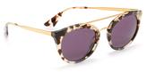 Prada Round Aviator Sunglasses