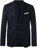 Neil Barrett panelled camouflage blazer - men - Polyamide/Polyester/Polyurethane/Virgin Wool - 50
