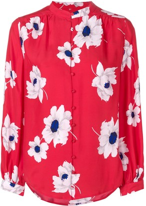 Equipment Floral Pattern Shirt