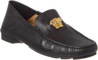 Versace Medusa Leather Loafer