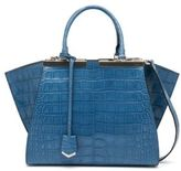 Fendi 3Jours Alligator Shopper