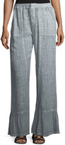 XCVI Timo Bell-Cuff Cotton Pants