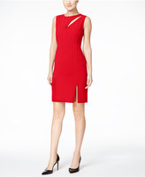 Calvin Klein Petite Cutout Sheath Dress