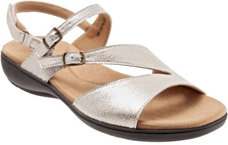 Trotters Adjustable Leather Sandals - Riva