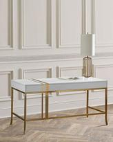 Cynthia Rowley for Hooker Furniture Side Stripe Accent Writing Desk