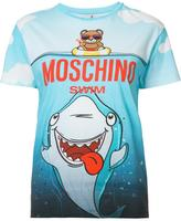 Moschino teddy and shark T-shirt