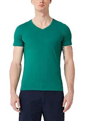 S'Oliver Men's 13.904.32.4500 T-Shirt, (Tile Blue 5639), X-Large