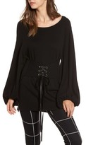 Leith Women's Corset Tunic Sweater