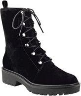 GUESS Weisy Velvet Combat Boots