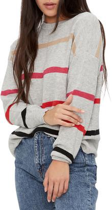 Michael Stars Sammi Crewneck Striped Sweater
