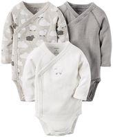 Carter's Baby 3-pk. Lamb Side-Snap Bodysuits