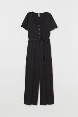 H&M Crinkled jumpsuit