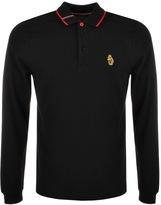 Luke 1977 Longmead Polo T Shirt Black