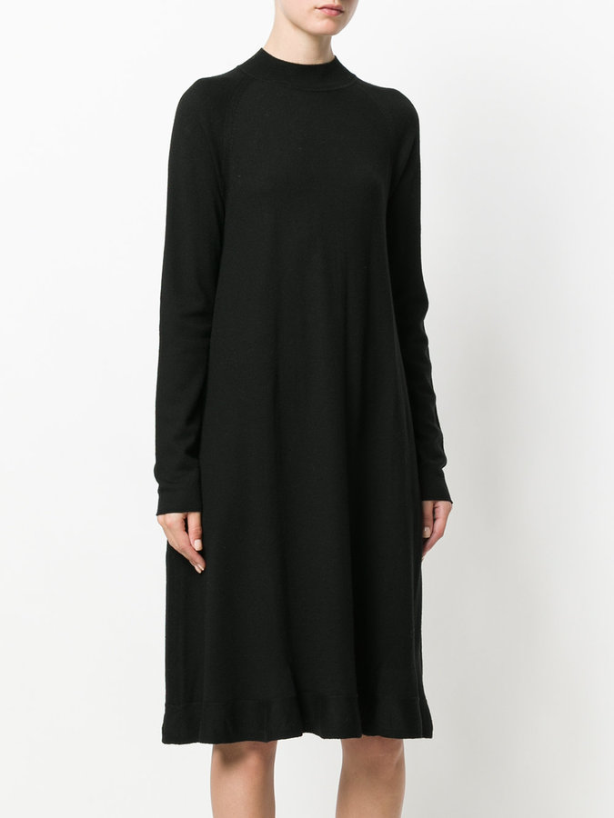 Odeeh crew neck knitted dress