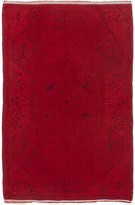 Ecarpetgallery Hand Knotted Color Transition Rug - 3ft x 5ft - Red