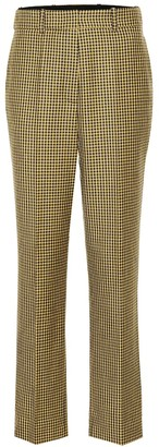 Racil Michael checked wool wide-leg pants