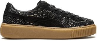 Puma Platform Exotic Skin sneakers