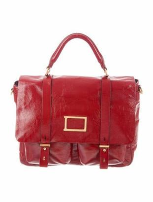 Marc Jacobs Patent Werdie Satchel Red