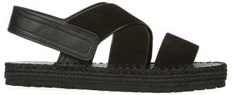 Vince Tenison 2 Leather Platform Slingback Sandals