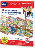 Vtech Touch and Learn Activity Desk Deluxe Expansion Pack - Nursery Rhymes