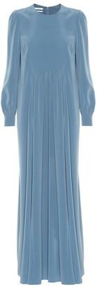 Co CrApe maxi dress