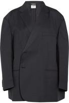 Vetements Brioni Oversized Wool Blazer - Navy