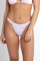 Bikini Lab Ribthym Banded Hipster Bikini Bottom