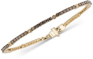 LeVian Le Vian Chocolatier Diamond Tennis Bracelet (2-1/2 ct. t.w.) in 14k Gold