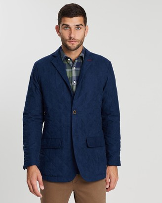 3 Wise Men The Windy Quilted Blazer