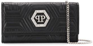 Philipp Plein Crystal Clutch Bag