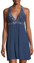 Fleurt Fleur't Front Cross Over Lace Chemise