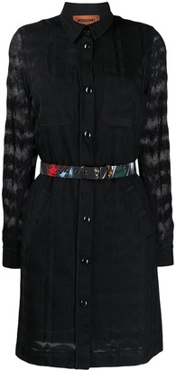 Missoni Long-Sleeve Shirt Dress