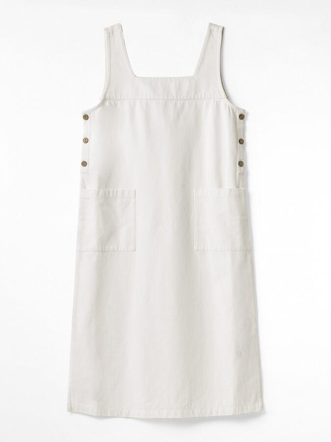 White Stuff Moonshine Denim Pinny Dress