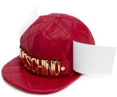 Moschino quilted logo snapback
