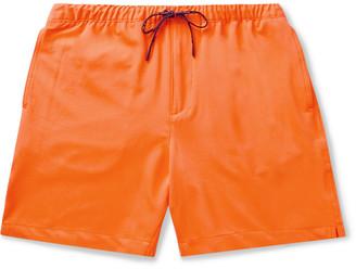 Club Monaco Stretch-Jersey Drawstring Shorts