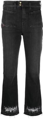 Diesel Distressed Bootcut Jeans