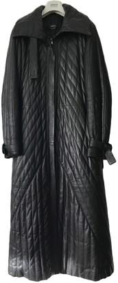 Cerruti Black Leather Jacket for Women