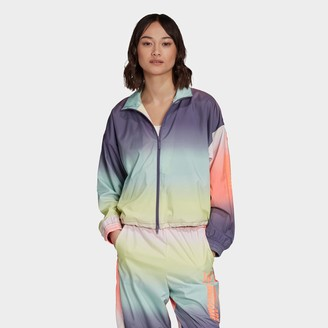 adidas Women's Tie-Dye Girls Are Awesome Track Jacket