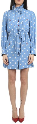 Marc Jacobs Blue Shirt Dress