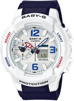 G-Shock Women's Analog-Digital Baby-g Blue Resin Strap Watch 49mm BGA230SC-7B