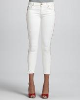 TEXTILE Elizabeth and James Dean Sugar Side-Stripe Skinny Jeans