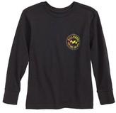 Billabong Toddler Boy's Flip Wave Long Sleeve Graphic T-Shirt