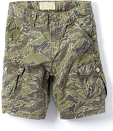 Lucky Brand Dusky Green Pham Cargo Shorts - Boys