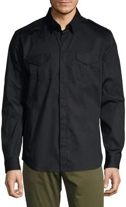 Karl Lagerfeld Paris Military Shirt