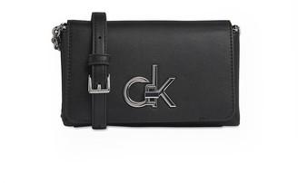 Calvin Klein Black Logo Small Crossbody Bag