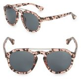 Dries Van Noten Pantos Tortoise-Shell Round Sunglasses