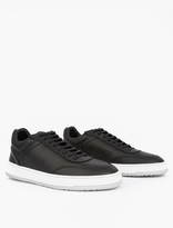Etq Amsterdam Black Low-Top 5 Sneakers