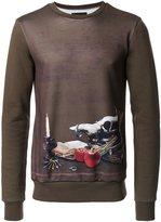 Yoshio Kubo skull print sweatshirt - men - Polyester - 2