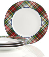 Ralph Lauren Set of 4 Holiday Dessert Plates