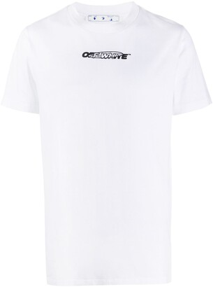 Off-White Hand Painters print T-shirt